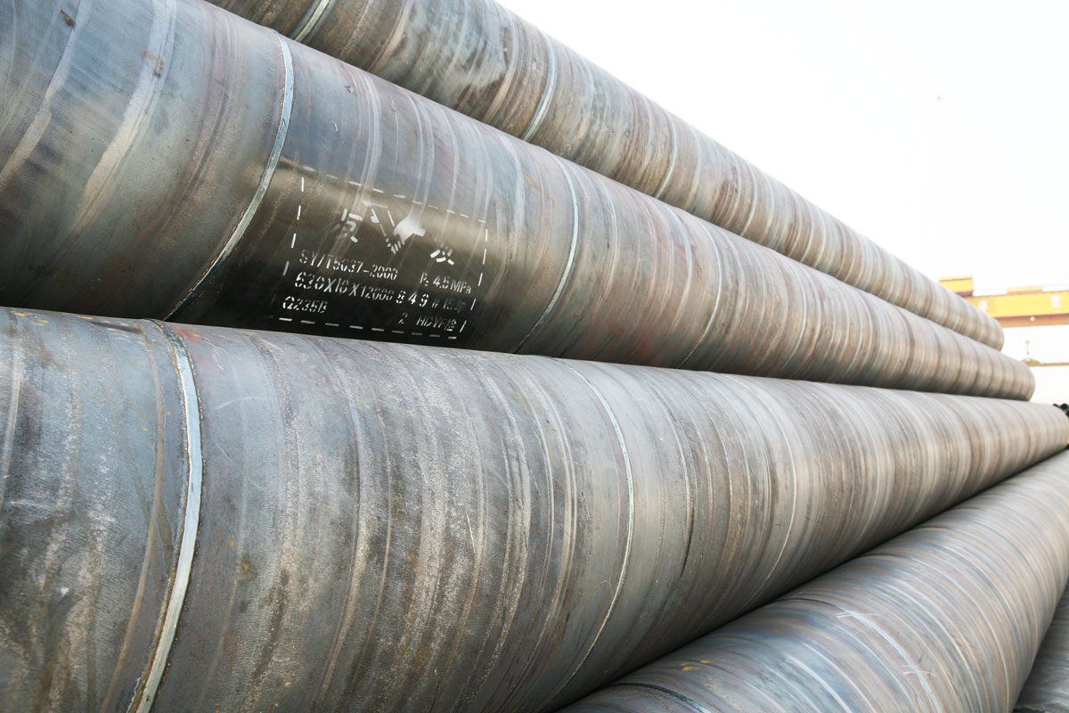 Sell SSAW spiral pipe