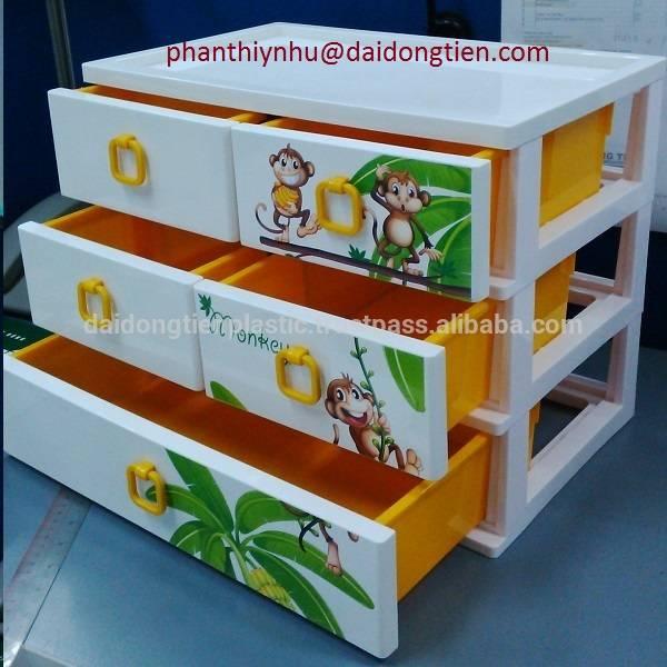 plastic nice mini cabinet for accessories