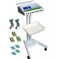 Electronic Muscle Stimulation, laser hair removal for women, varicose veins, spa chemicals etc.