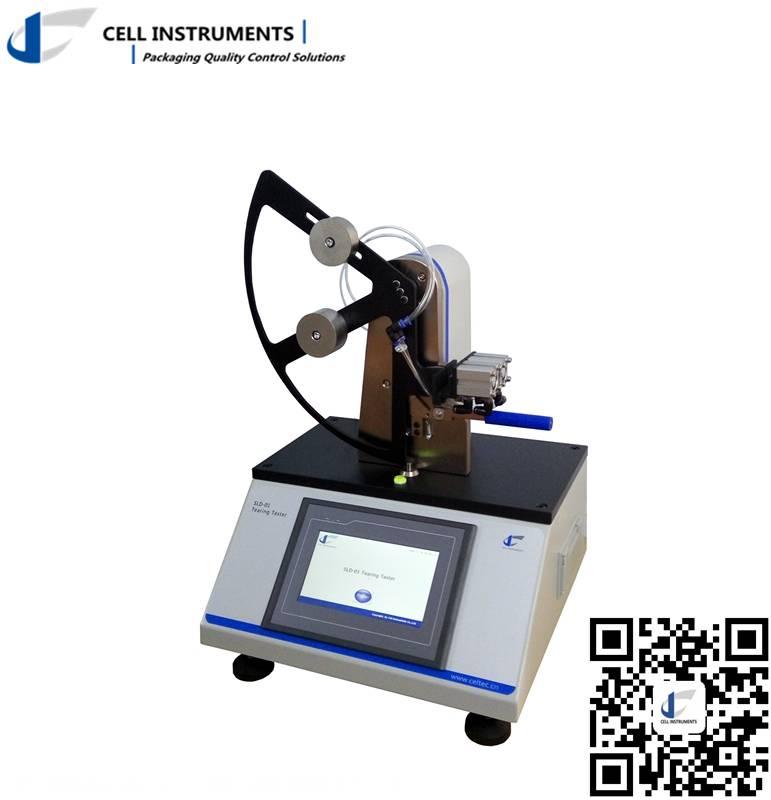 Pendulum tear strength tester