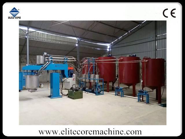 ECMT-131A Automatic Batch Foaming Machine