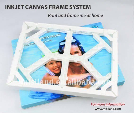 DIY Inkjet Photo Fun Canvas Frame In home (Waterproof Glossy Canvas)