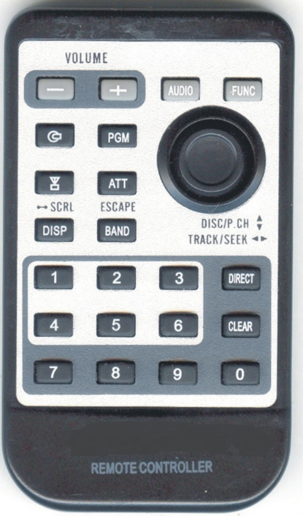Original constructure IR remote control with steering switch
