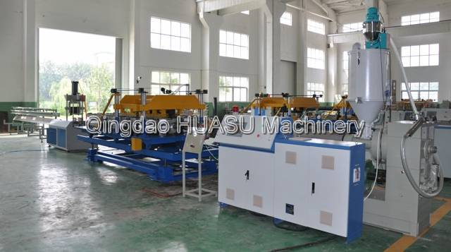 HDPE/PP Single Wall electricity Cable Protection Pipe Extrusion Line