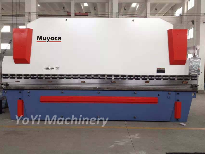 cnc hydraulic press brake 200 tons