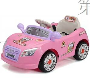 Emulational ride on audi pink electric car for kids children BJ018