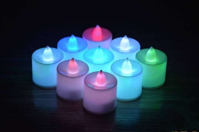 Remote LED Christmas candle light for Christmas new years