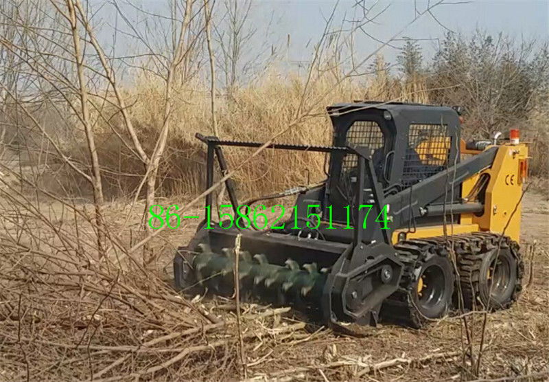 China skid loader forestry mulcher attachment