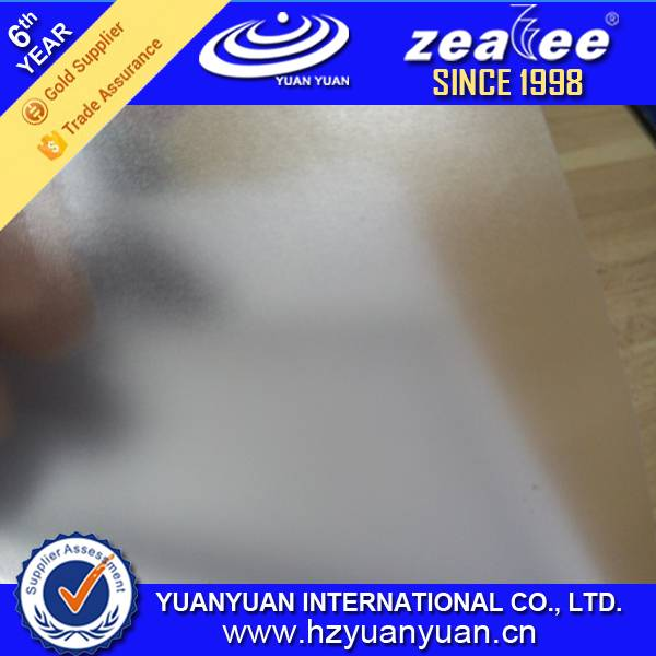 Foggy Cold Lamination PVC Film for Laminating