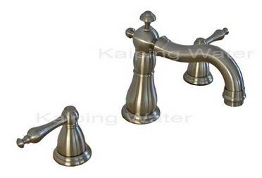 Two Handles Widespread Lavatory Faucet