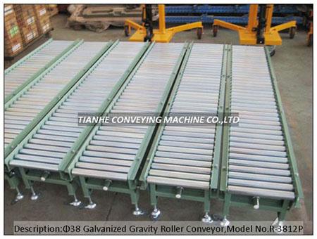 Gravity Roller Conveyor, Free Roller Conveyor, Conveyor Roller Conveyor