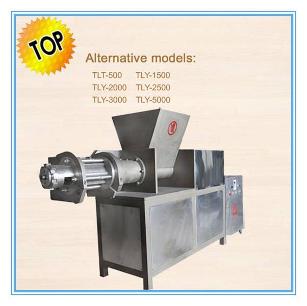 2014 China New full stainless steel chicken meat separator