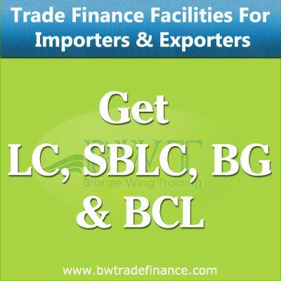 Avail LC, SBLC, BG and BCL for Importers and Exporters
