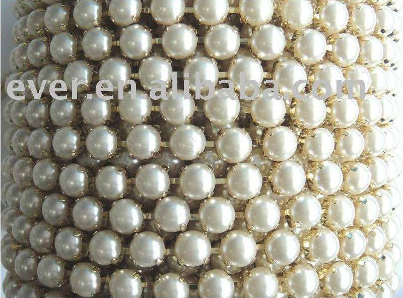 pearl cup chain