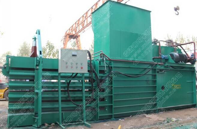 Cotton automatic hydraulic horizontal cotton baling press