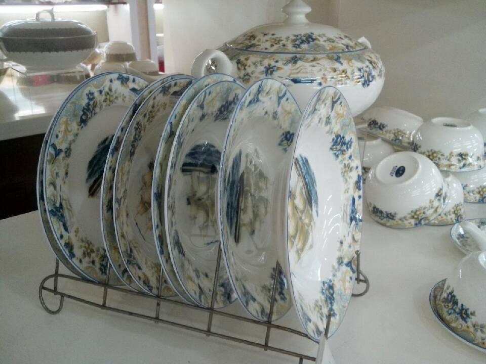 Fine animal bone china dinner set