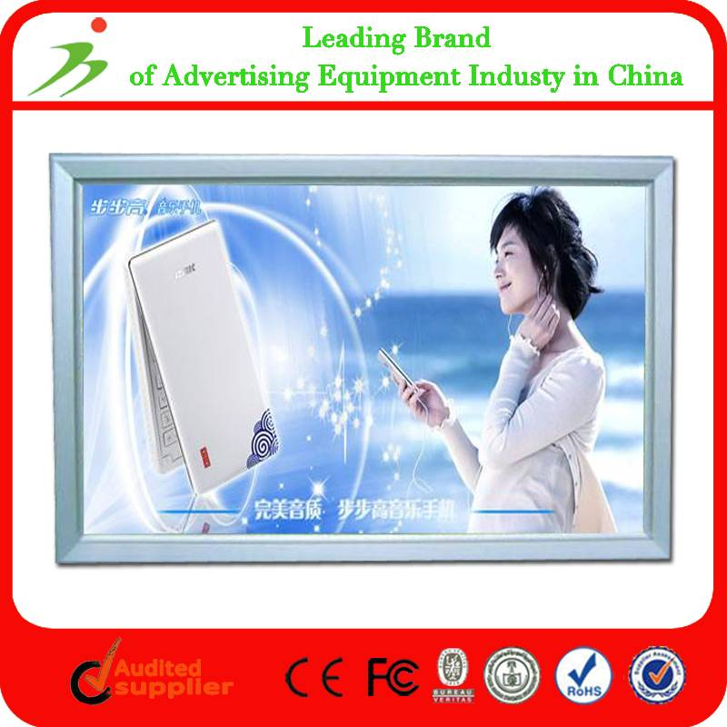 High Quality Ultra Slim Advertising Aluminum Led Light Box