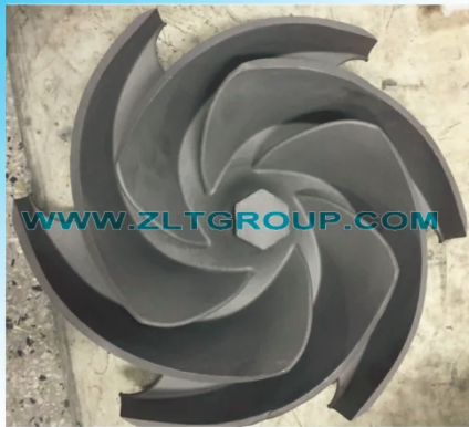 Impeller in Titanium for ANSI Chemical Process Goulds Model 6X8-13 Pump Spares