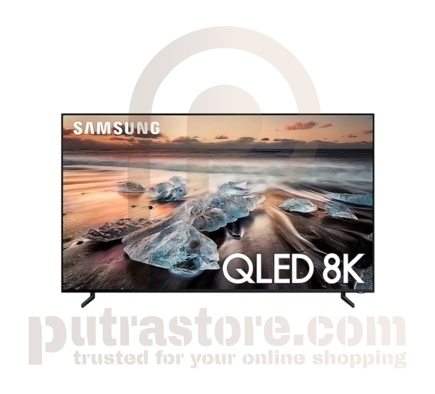 "New Samsung 65"" Q900 Black QLED 8K UHD Smart HDTV"
