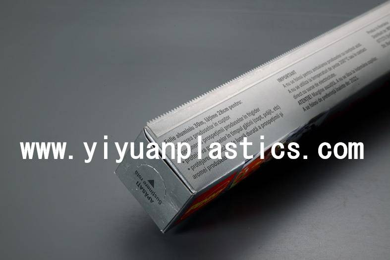 Thin Plastic Blade for cling film and aluminum foil