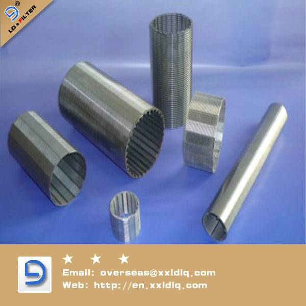 316L in stainless steel wedge wire screen