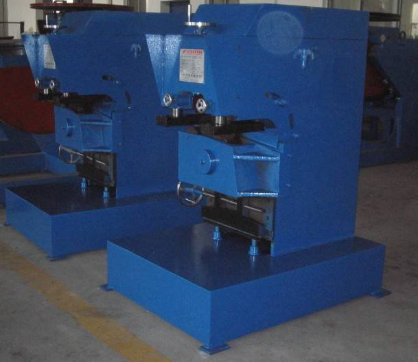 Milling and beveling machine