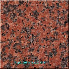 China Red tianshan red granite from stone manufacturer