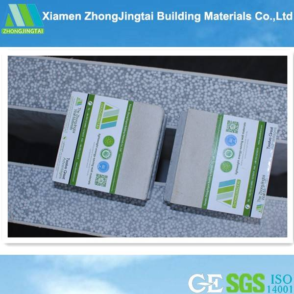 2015 Lightweight insulation prefabricated house concrete eps panel