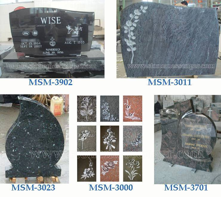 Granite Headstone Monuments From China