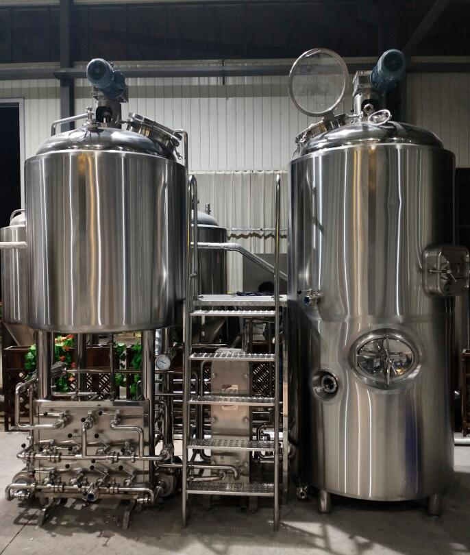 1000l craft beer brewing equipment with stainless steel fermentation tank