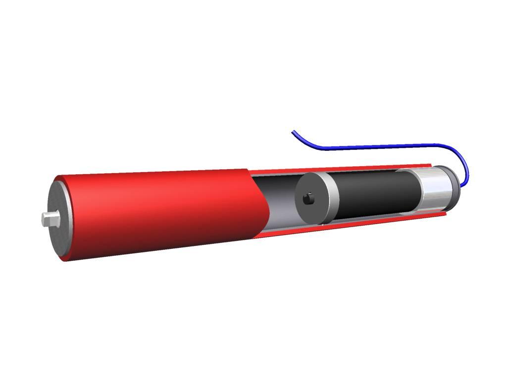 1.91(48.6mm) Diameter 24VDC, Motorized Roller
