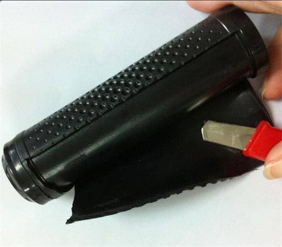 plastic injection overmould and overmoulding hand shank