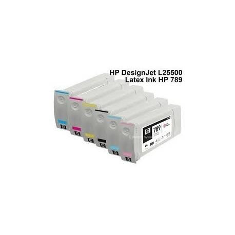 HP 789 Latex Ink for Designjet L25500 (775ml) Cyan CH616A Price : $65.25