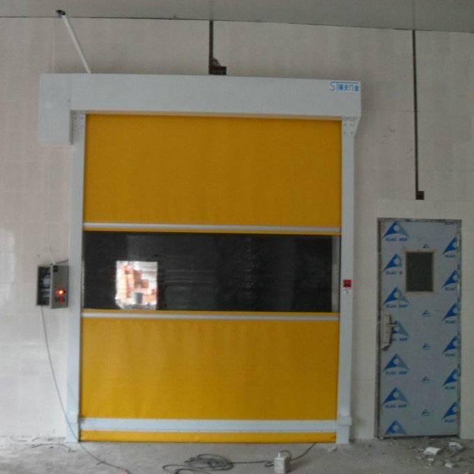 flexible shutter rolling door