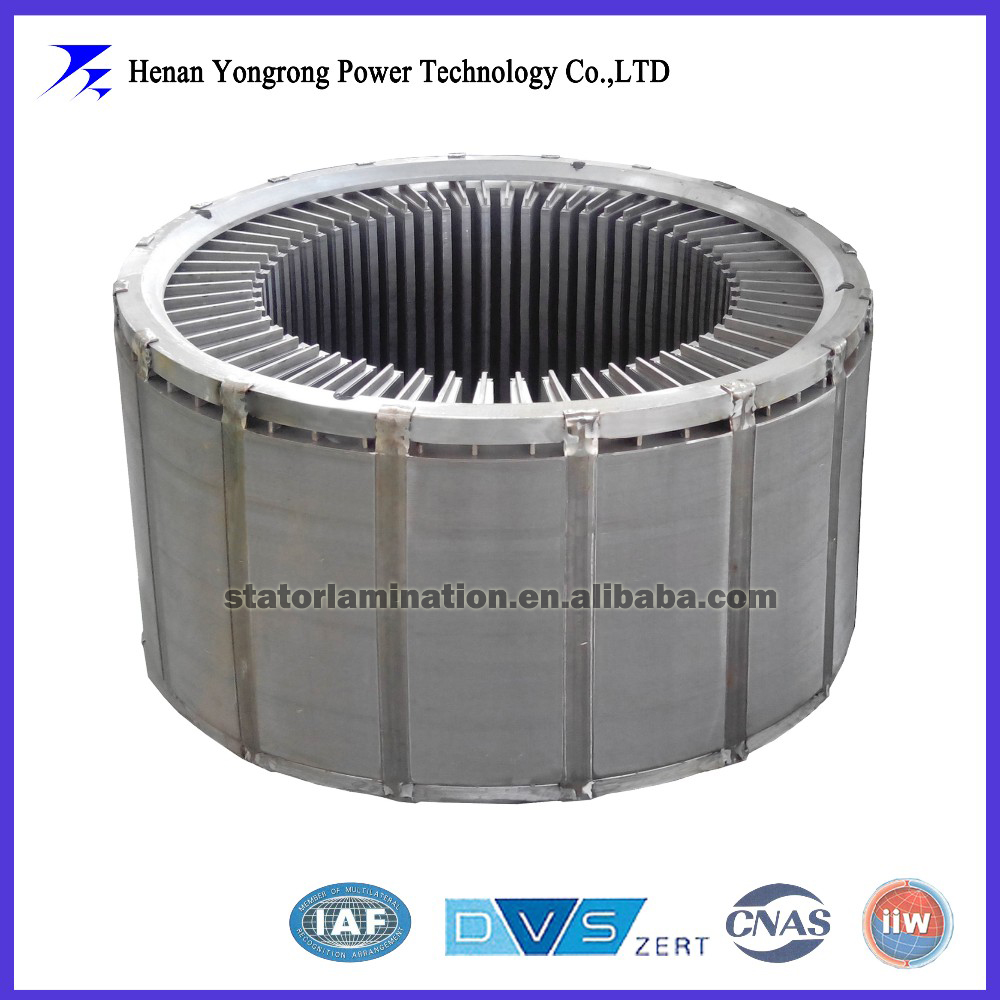 IE3 high efficiency generator stator laminated core