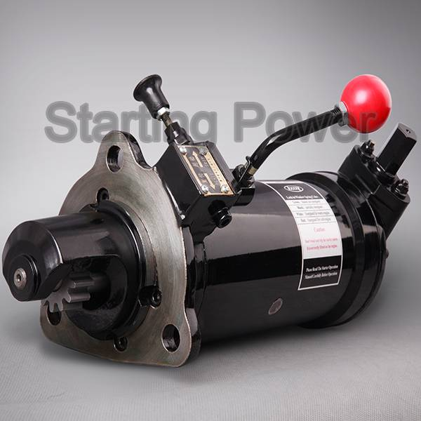Non-Electric starter for diesel engine