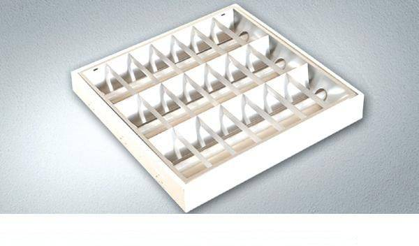 3 tubes Lighting Fixture of Economic Type with Light Steel