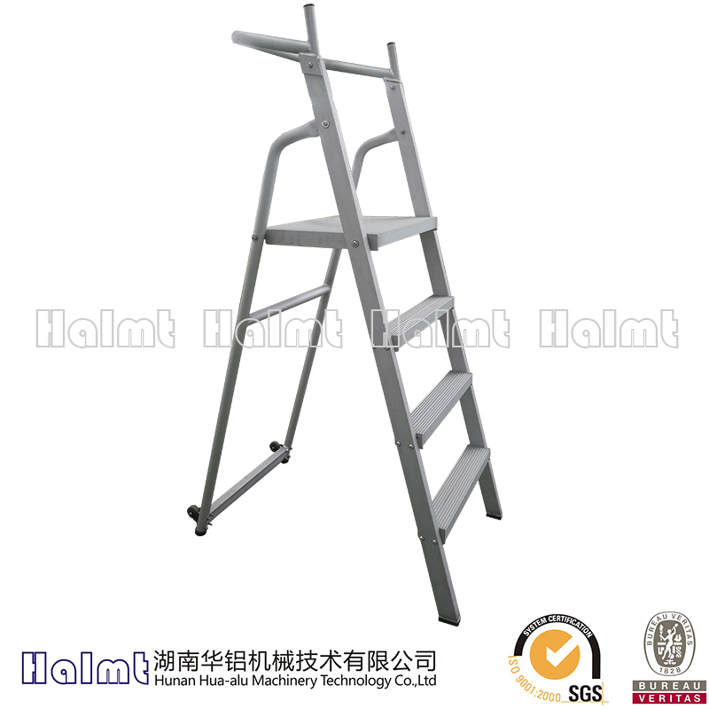 Safe and Reliable Multipurpose Aluminum Folding Step Ladder