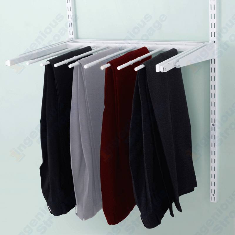 Ingenious Gliding Pant Racks