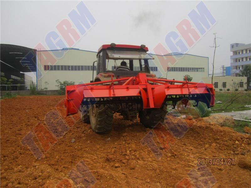 Cassava field Ridging machine