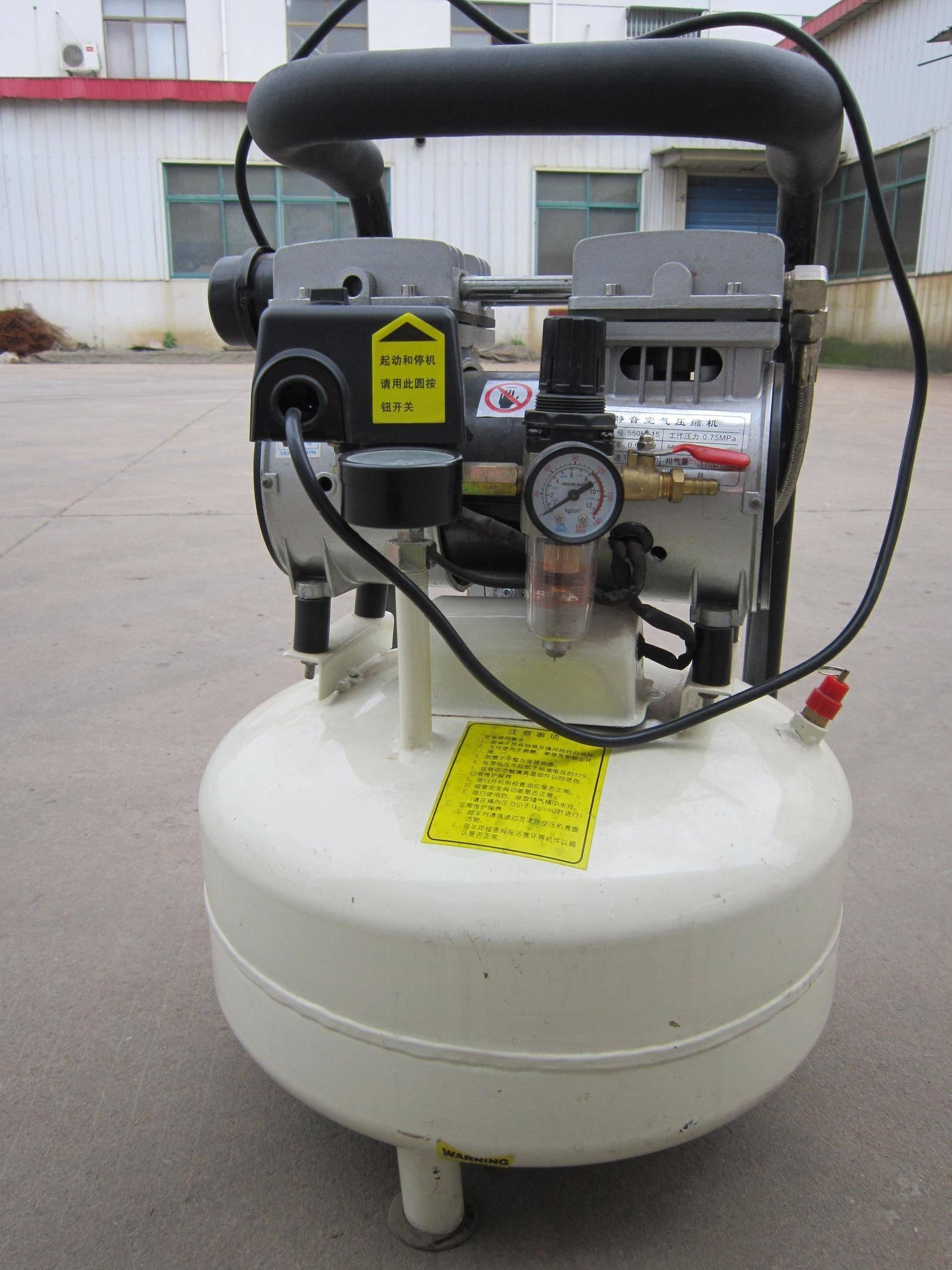 Oil Free Silent Dental Portable Air Compressor
