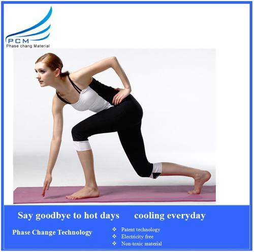 hot sale in summer cooling yoga mat
