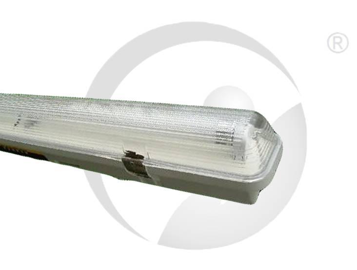 T8 Weatherproof fitting Fluorescent Light Fixture