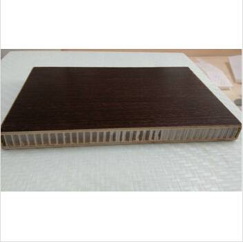 Wooden pp honeycomb sandwich panel