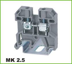Din-rail Terminal Wire arrage:0.2-2.5mm2 Part No.WS2.5