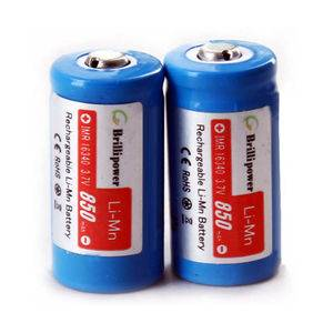 Brillipower IMR16340 battery 850mah Rechargeable Batteries