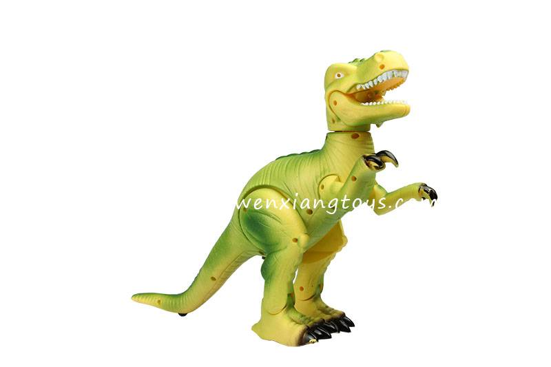 battery Jurassic Park plastic dinosaur toy