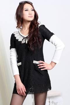 Fashion Korean Style Dress Wholesale
