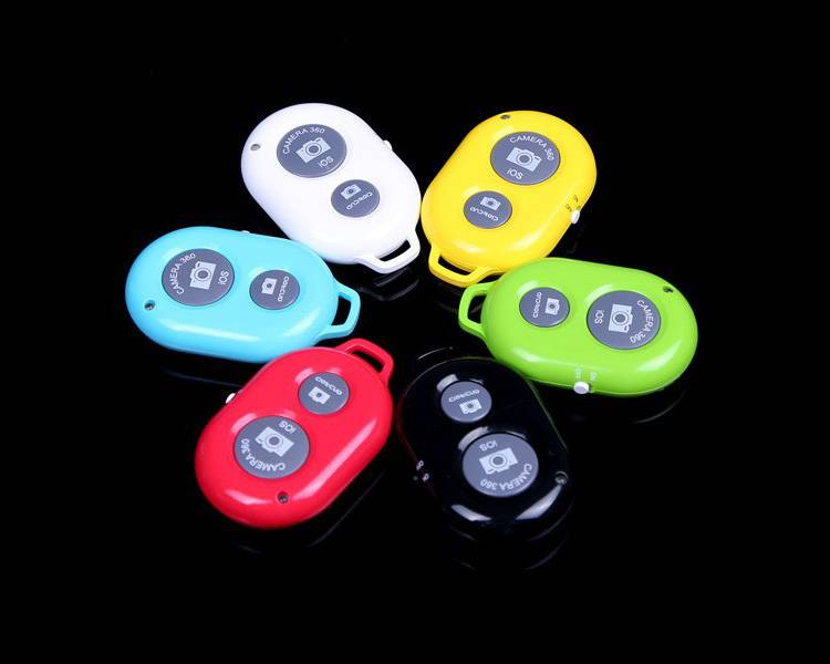High Quality Wireless Camera Remote Shutter for Ios iPhone Android Samsung Galaxy HTC Sony