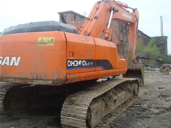 Used Daewoo dh300-7 excavator